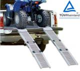 Tri-fold steel loading ramp, steel ramp